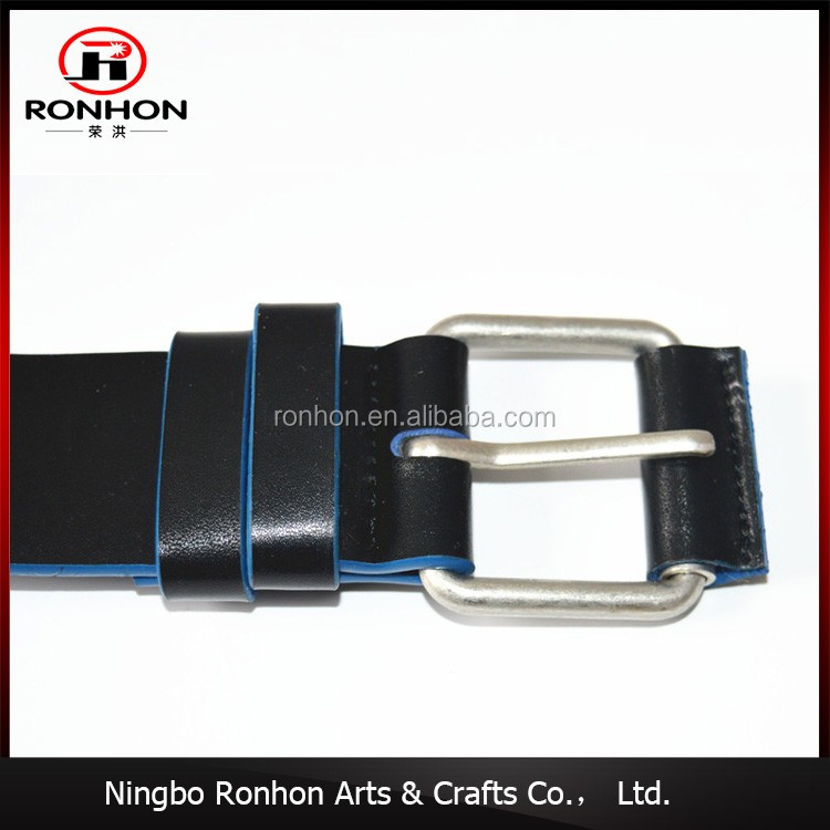 Customized men leather belt, wholesale leather belt For Man Classic Pin Buckle Belt