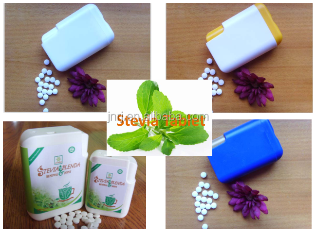 EU organic Stevia tablets in dispenser