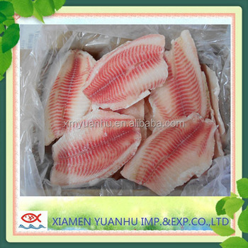 Frozen Fish IQF Tilapia Fillet For Sale