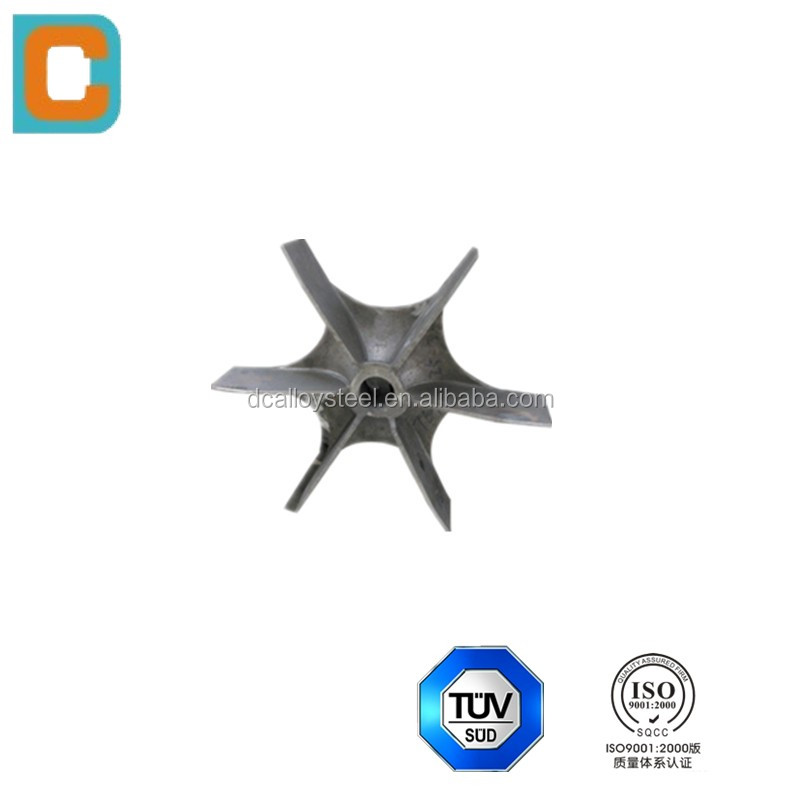 manufacturer supply stainless Steel casting Heat Treatment Furnace Fan