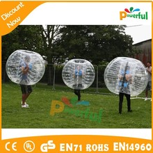 new design popular roll inside inflatable ball,body inflation suits for sale