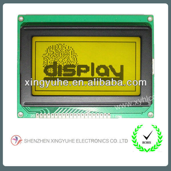sunlight readable 128x64 lcd display
