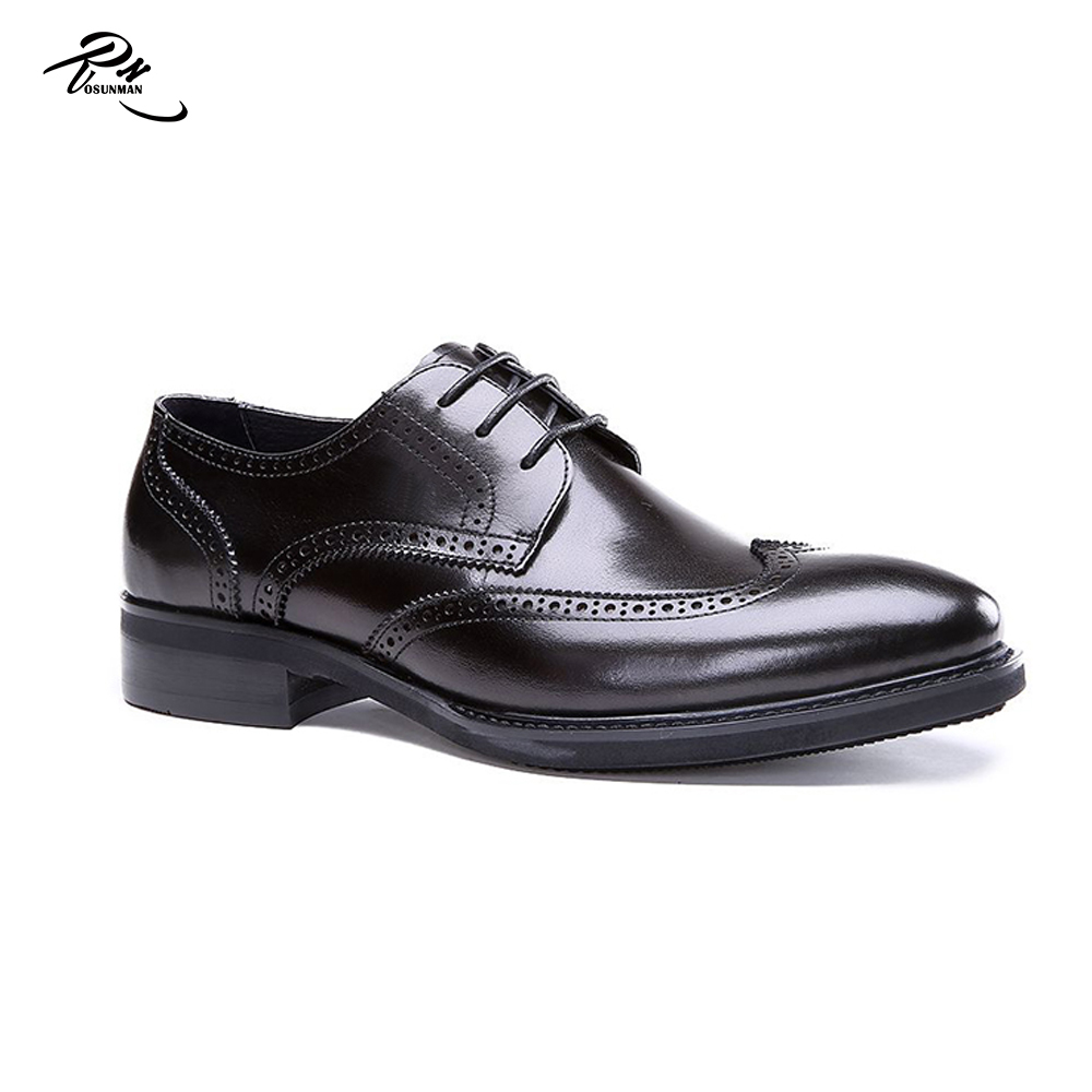Southeast Asia shoes last hottest design genuine leather men brogue shoes