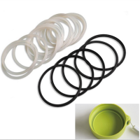 Glass Lid Silicone Seal Gasket Ring