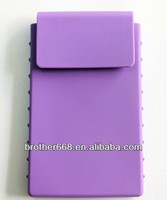 2014 Mobile Phone Silicone Wallet Card Case