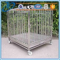 low price dog crate commercial dog cage and 48 inch metal collapsible dog cage