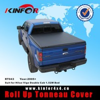 sliding truck bed cover for Hilux fit Vigo Double Cab 1.52M Bed