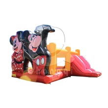 Beautiful cartoon combo inflatable bouncer slide for kids