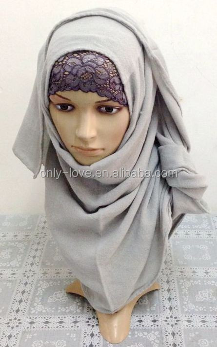 muslim pashmina plain long scarf,islamic hijab ML0121