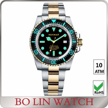 diver watch case 40mm, dive watch BGW9 super luminous, 40mm diving watch 1000m