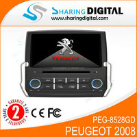 New Peugeot 307 2009 year special car DVD with GPS CAN BUS bluetooth