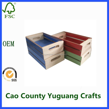 Modern Mini Wooden Crate Wholesale