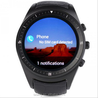 K18 Smart Watch Phone 3GI Android 4.4 MTK6572 Dual Core 1.3 inch 512MB Ram 4GB Rom Heart Rate GSM+WCDMA Nano SIM Bluetooth