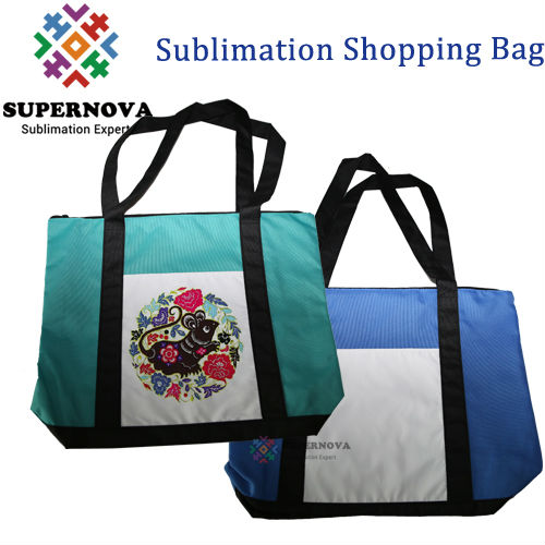 Blank Canvas Bags ,Custom Printed Tote Bag ,Sublimation Grocery Bag
