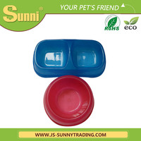 Useful pp single disposable multiple pet travel water bottle bowl from pet product manufacturer
