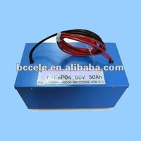 60V lifepo4 pure electric bus battery 50Ah