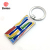 New product good quality customised cute colorful key chain