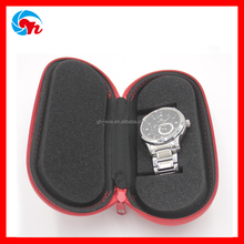 Hard Waterproof Pill Leather Watch Box Pouch For Movement