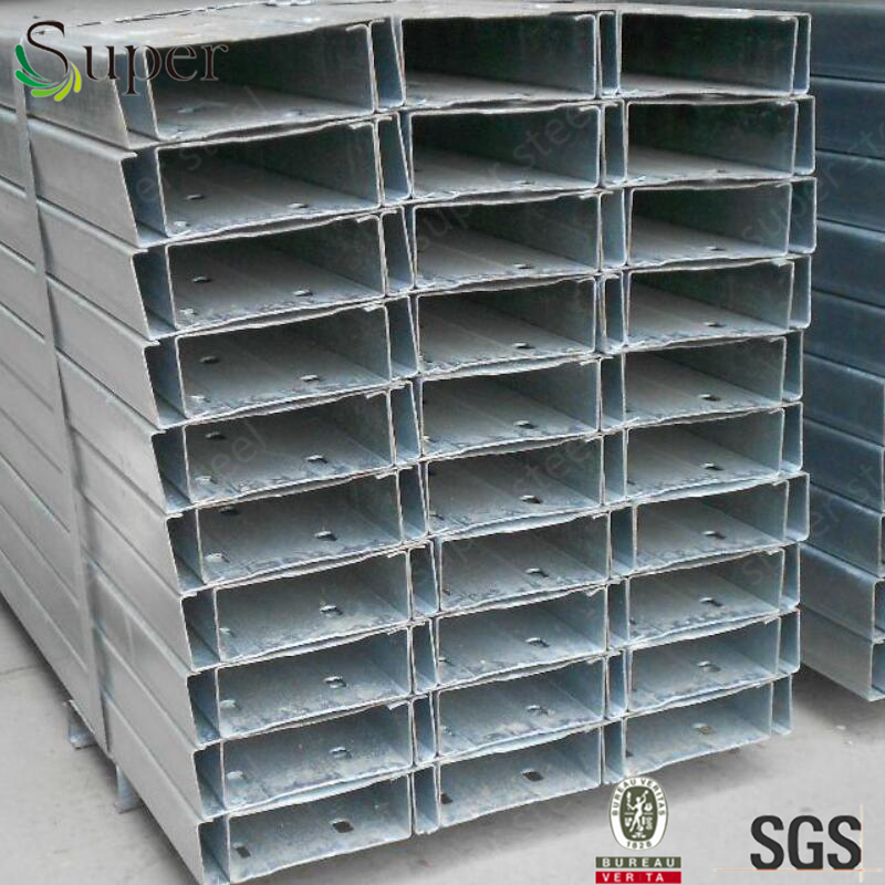 metal building materials price roofing channel Steel Frame bracket galvanized steel metal purlin/profile