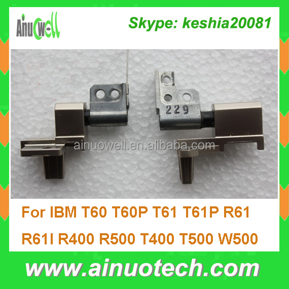 laptop LCD hinge for IBM T60 T60P T61 T61P R61 R61I R400 R500 T400 T500 W500 laptop screen hinges