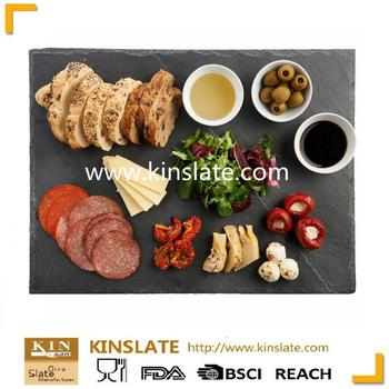handmade popular black stone slate plate for sale buy slate plate