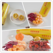 Super clear soft transparent pvc cling film for packing food