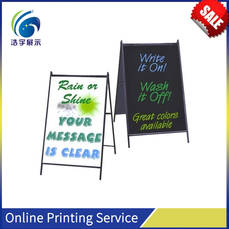 Hot sales!!High quality!! 45mm Mitred outdoor poster frame Display board, double poster board,poster board sign