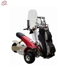 off-road fourstar 3 wheel electric golf scooter with three tubeless tyres