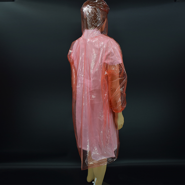Factory Supply disposable plastic raincoats