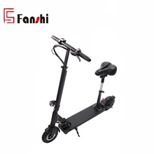 8inch Aluminium Alloy Frame 2 Wheel Lithium Battery Foldable Electric Scooter With Seat for adults