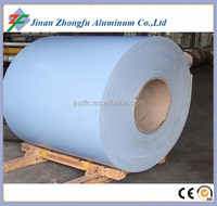 white color PE/PVDF color coated two sides painted aluminum coil