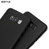 S8 Phone Accessories TPU Soft Mobile Back Cover Black Silicone Case For Samsung Note 8 case