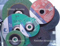 resin bond abrasive cutting wheel and grinding wheel with H.S. code 68042210