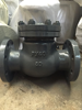 stainless steel swing check valve (py40,dn80)