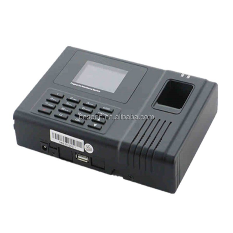 China factory supplier fingerprint time attendance machine work without software for monitoring employees work time