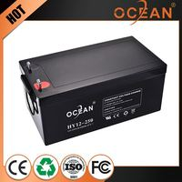 Latest non-fading cheap lead acid battery