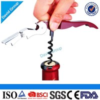 Top Quality Hot Sale Promotional Wine Metal Bottle Corkscrew