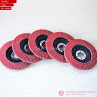 Plastic and Soft cloth Backing Flap Wheel