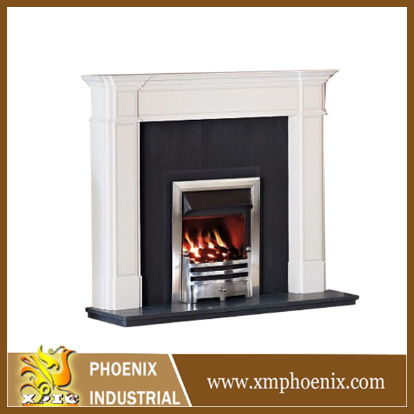 granite fireplace mantel shanxi black granite fire place