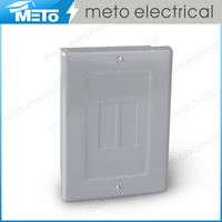 Outdoor Portable Power Distribution Box Plastic Electrical Enclosure & 2 Way 120/240V