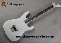 Shengque Unfinished Custom Quilted Maple Electric Guitar Kits