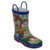 Kids Waterproof 3D design Character Printed Waterproof Easy-On handle Rubber Rain Boots