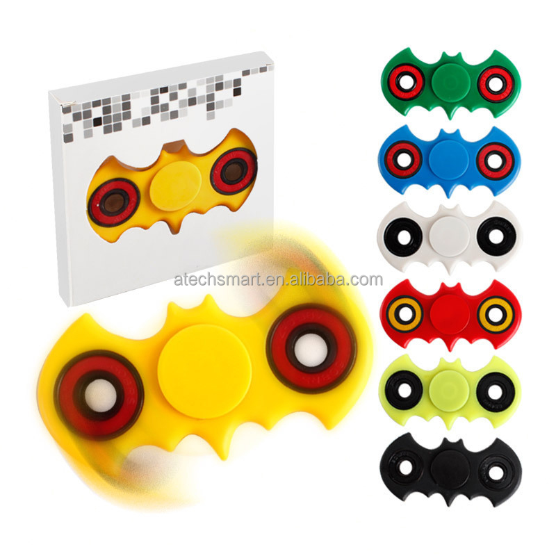 Ultra Durable High Speed 608 Bearing Hand Spinner Fidget Toy EDC ADHD Focus for Batman design