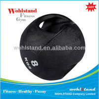 High Quality Weight Ball Rubber Double Handle Medicine ball