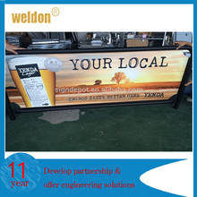 WELDON Breeze Barrier, Cafe Barrier, Wind Break Banner
