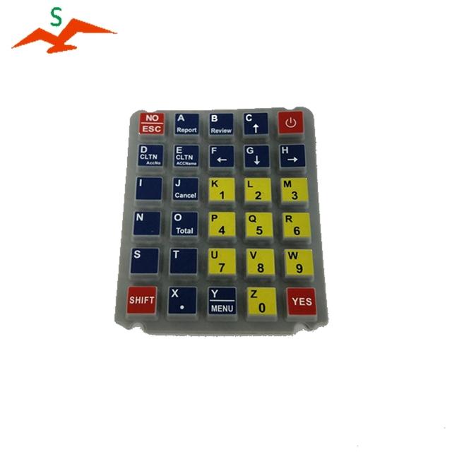 Custom Effective silicon keypad for calculator 94097