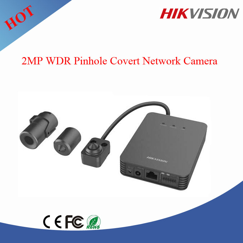 Hikvision 2MP WDR Pinhole ip camera Covert Network Camera