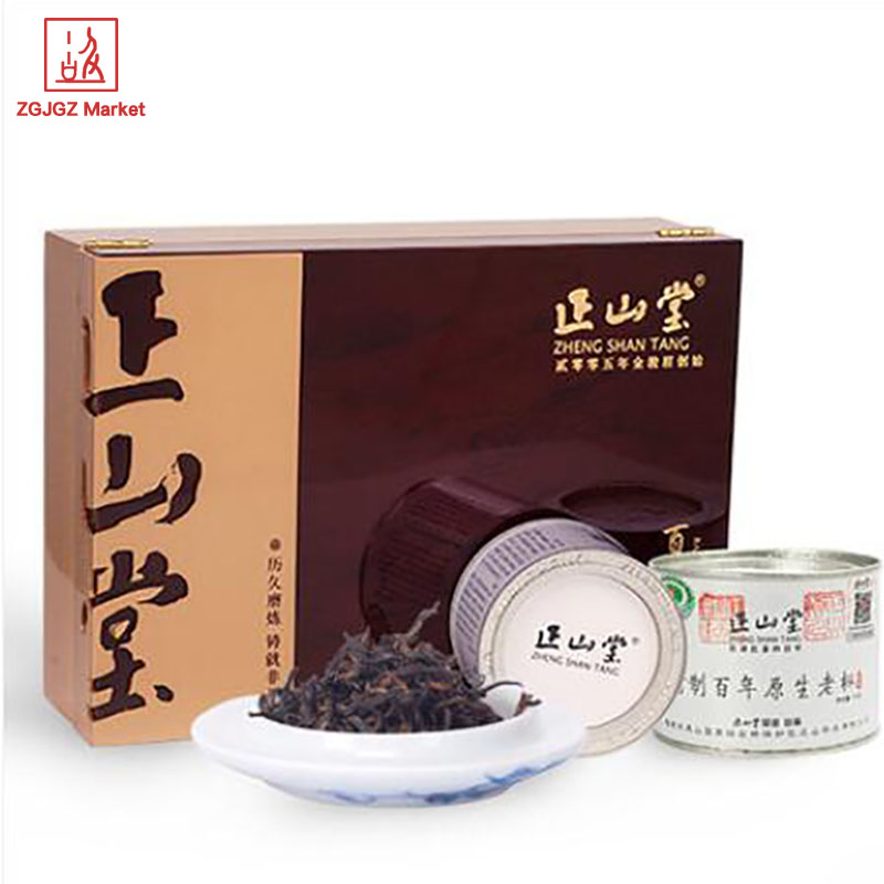 Hot Selling High Quality Lapsang Souchong Best Black Tea Centuries Old Fir 200g Organic Rooibos Tea Gift Box