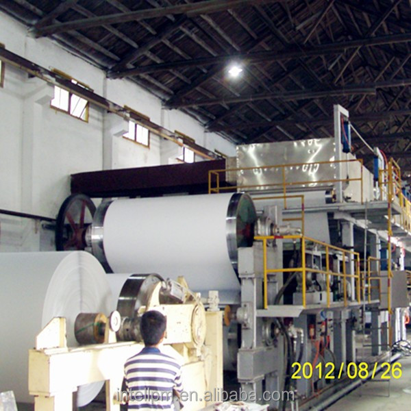 INTELL-4200/350-500TPD Multi-layers Coating/Coated White Board Paper Machine Production Line with High Speed and Large Capacity