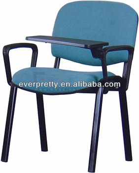 Chair with Writing Table in Press Conference Conference Chair with Writing Tablet Training Chairs  sc 1 st  Guangzhou Everpretty Furniture Co. Ltd. & Chair with Writing Table in Press Conference Conference Chair with ...